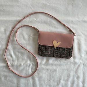 🔵Gold & Pink Shoulder Bag